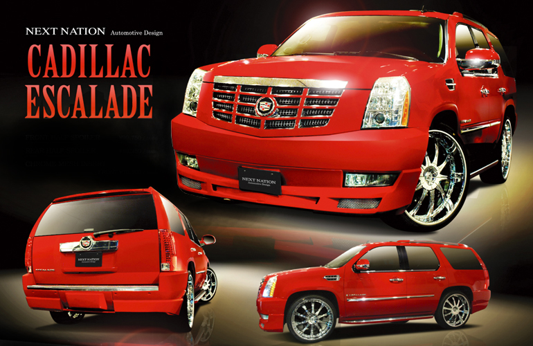 Cadillac Escalade NEXT NATION Wide Body