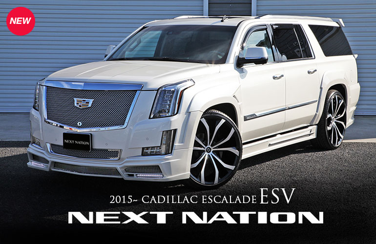 NEW Cadillac Escalade NEXT NATION Wide Body